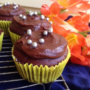 chocolate fudge cupcake