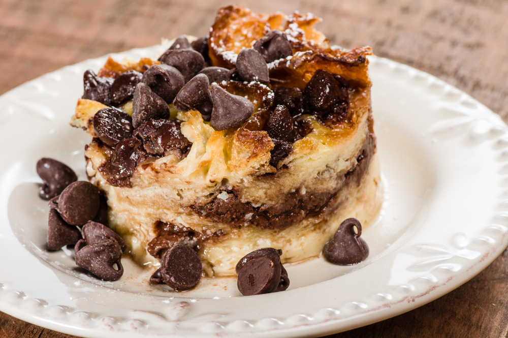 Chocolate Bread Pudding - Natvia