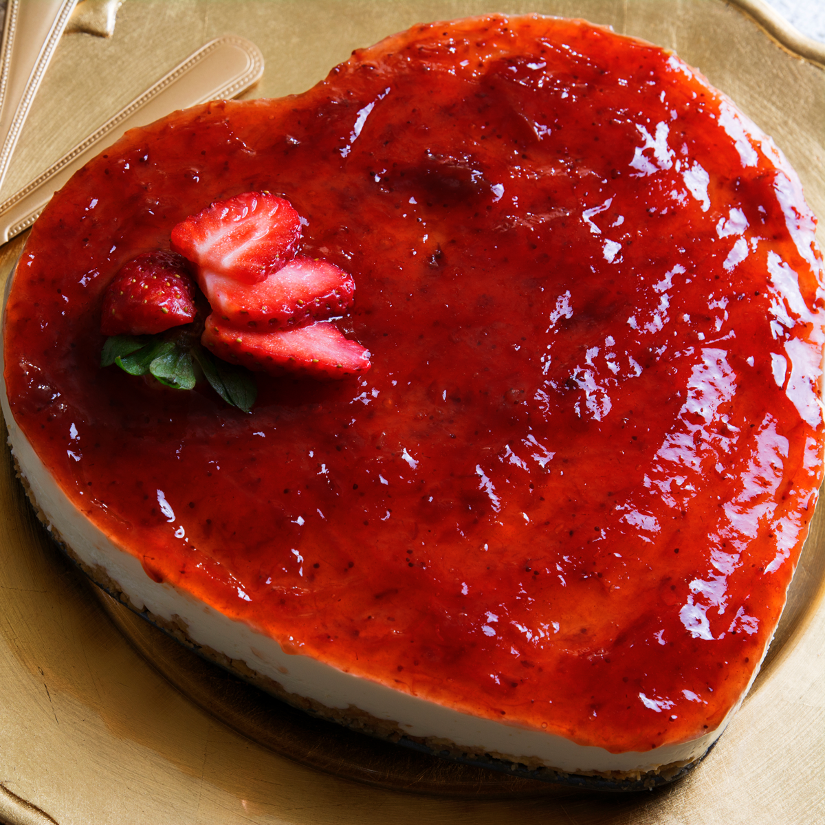 Strawberry- Coconut Cheesecake Recipe — Dishmaps