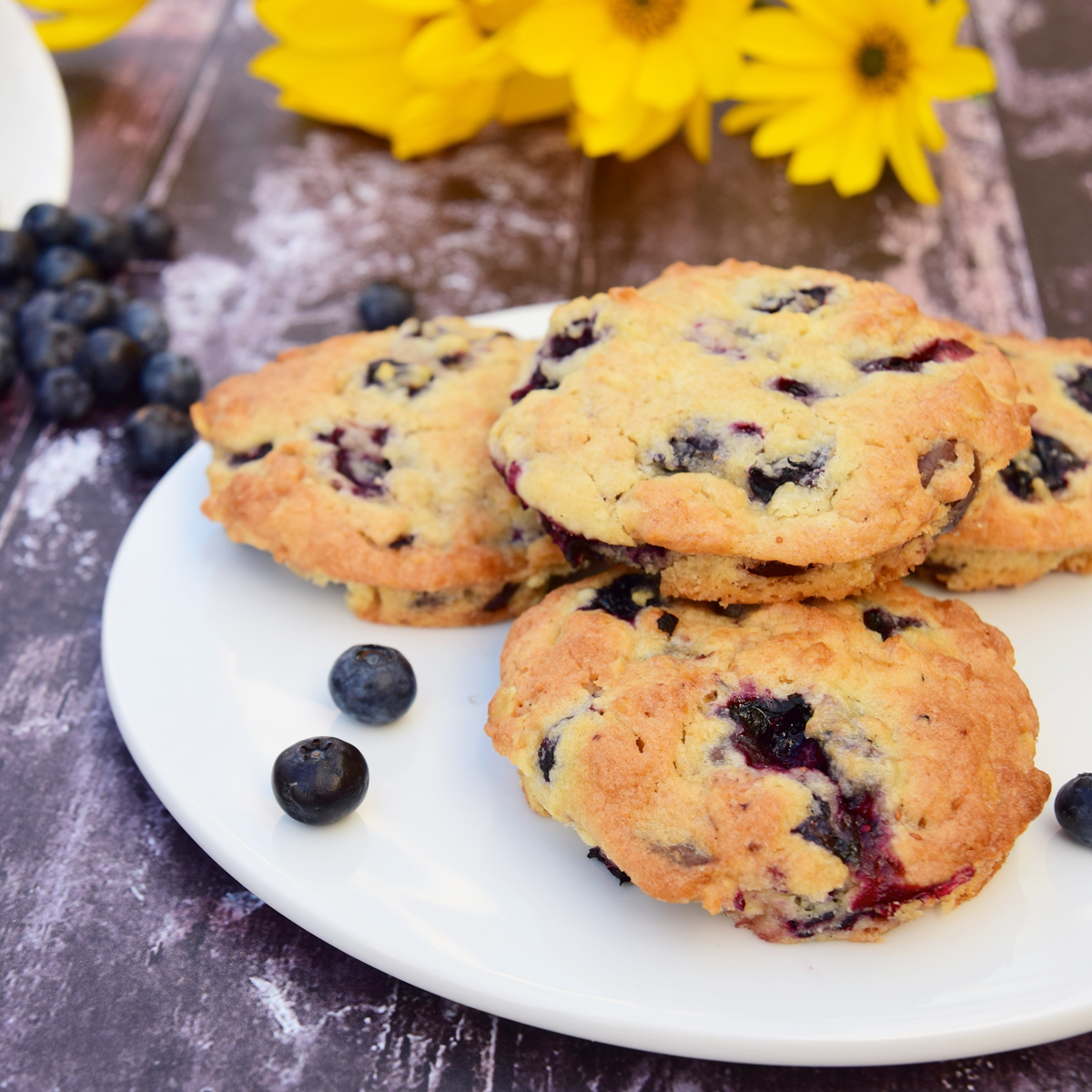 Best Blueberry Cookies Recipe — Dishmaps