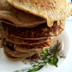 Banana, Apple and Chia Pancakes