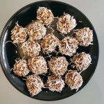 Chocolate and Coconut Protein Balls